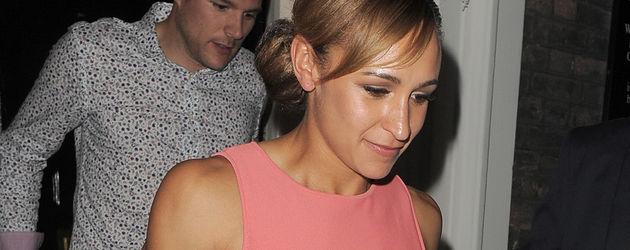 Jessica Ennis in Rosa