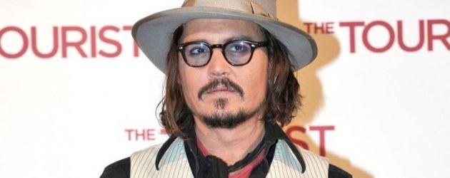 Johnny Depp beim Photocall in Rom
