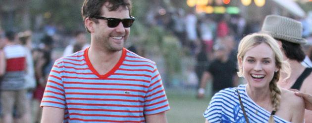 Joshua Jackson und Diane Kruger im Streifen-Look