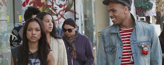 Karrueche Tran und Chris Brown beim Shoppen