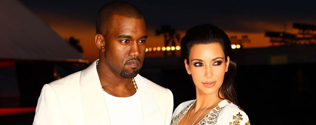 Kim Kardashian mit Kanye in Cannes