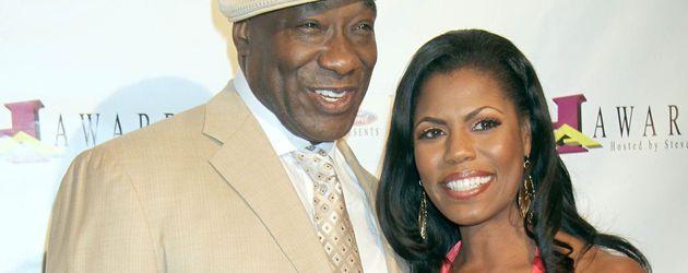 Michael Clarke Duncan und seine Freundin Omarosa