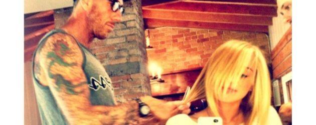 Miley lässt sich die Haare färben