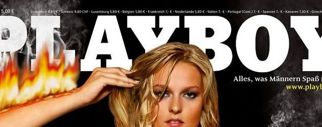 Miriam Höller auf dem Playboy