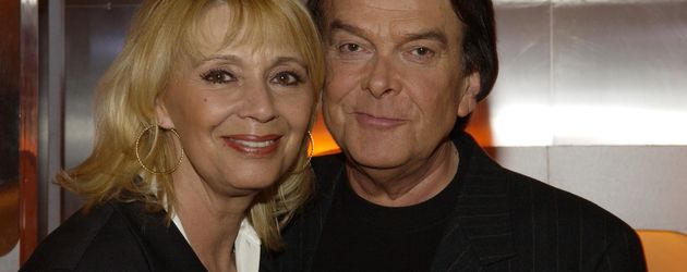 Norbert Berger und seine blonde Frau