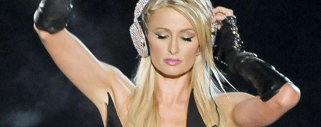 Paris Hilton beim Auflegen