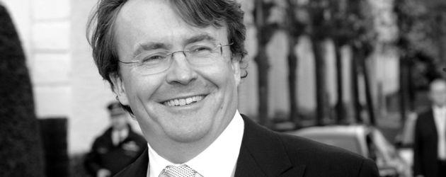 Prinz Johan Friso in Schwarz-Weiß