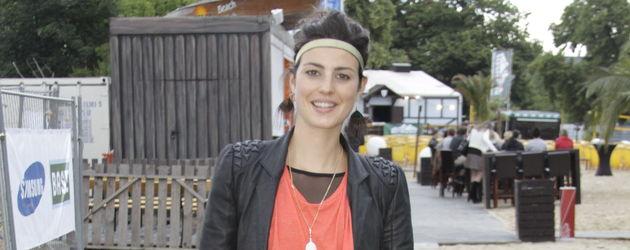 Sarah Mühlhause mit rotem Shirt
