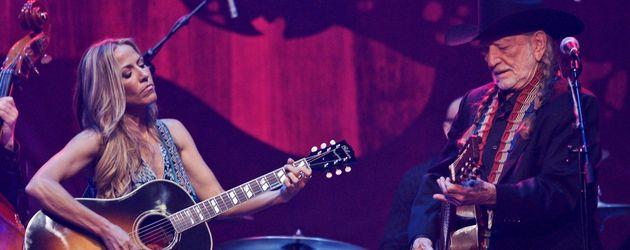 Sheryl Crow und Willie Nelson
