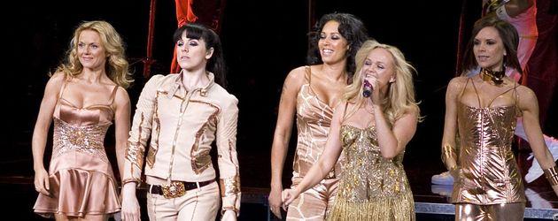 Spice Girls in goldener Kleidung