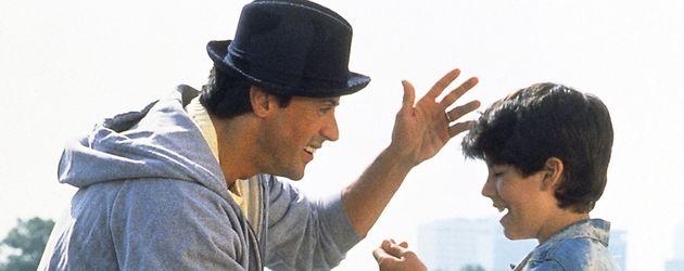 Sylvester Stallone und Sage Stallone in Rocky