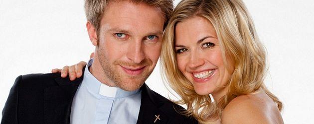Verbotene Liebe: Nina Bott und Hubertus Grimm