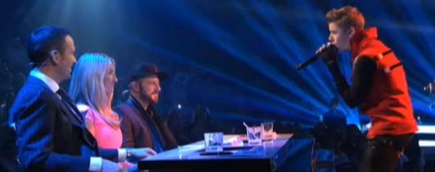 X Factor live: Justin Bieber singt für Sarah Connor