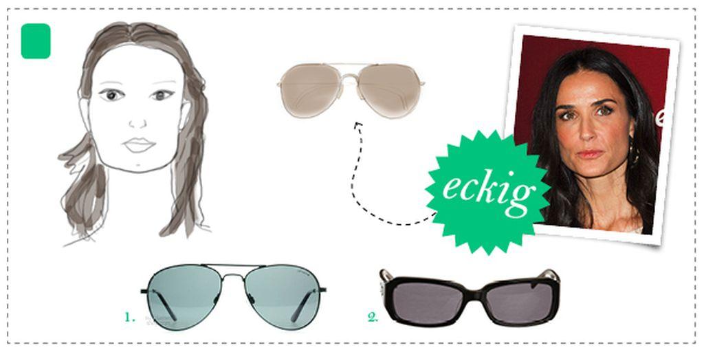 Finde die richtige Sonnenbrille für dein Gesicht! | Promiflash.de