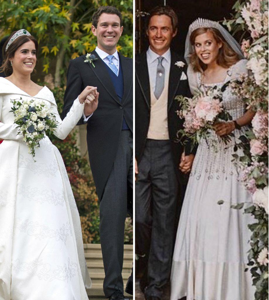 Eugenie oder Beatrice: Wer trug das schönere Brautkleid