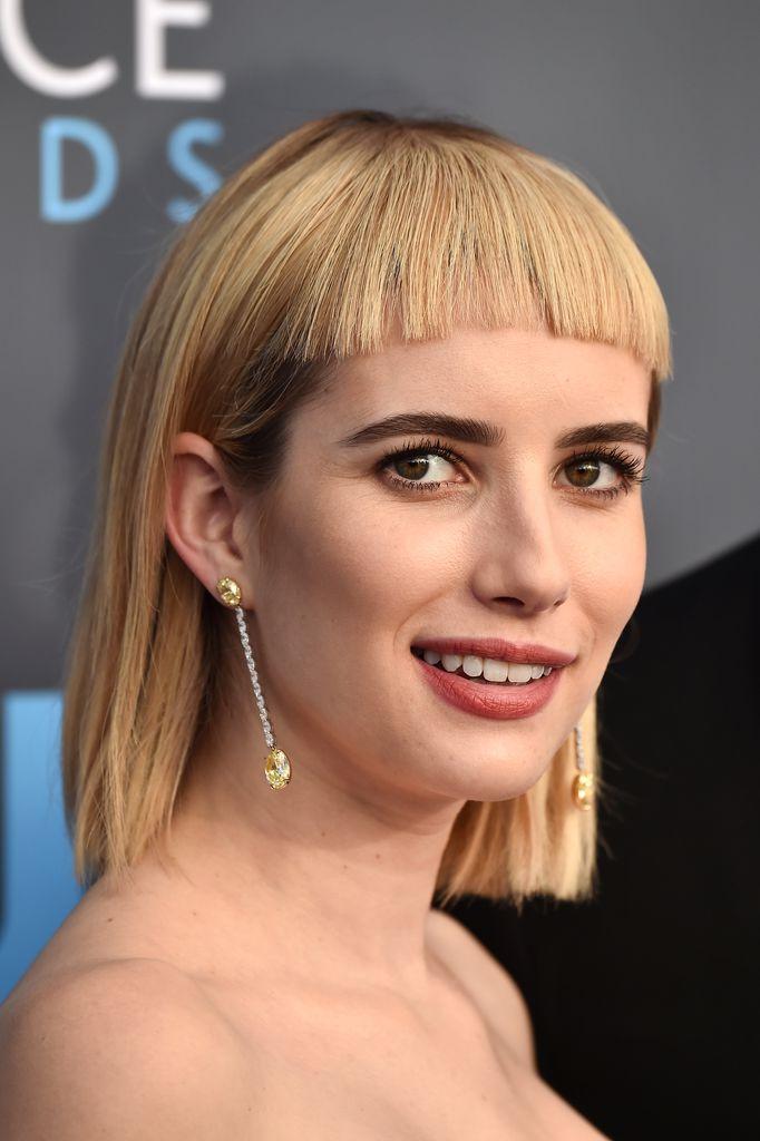 Pony Frisur Emma Roberts Neuer Style Kommt Nicht So An