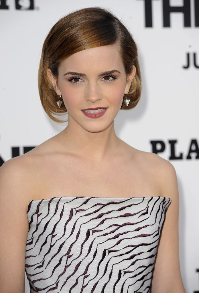 Raffinierte Bob Frisur Emma Watson Im Wow Look Promiflashde