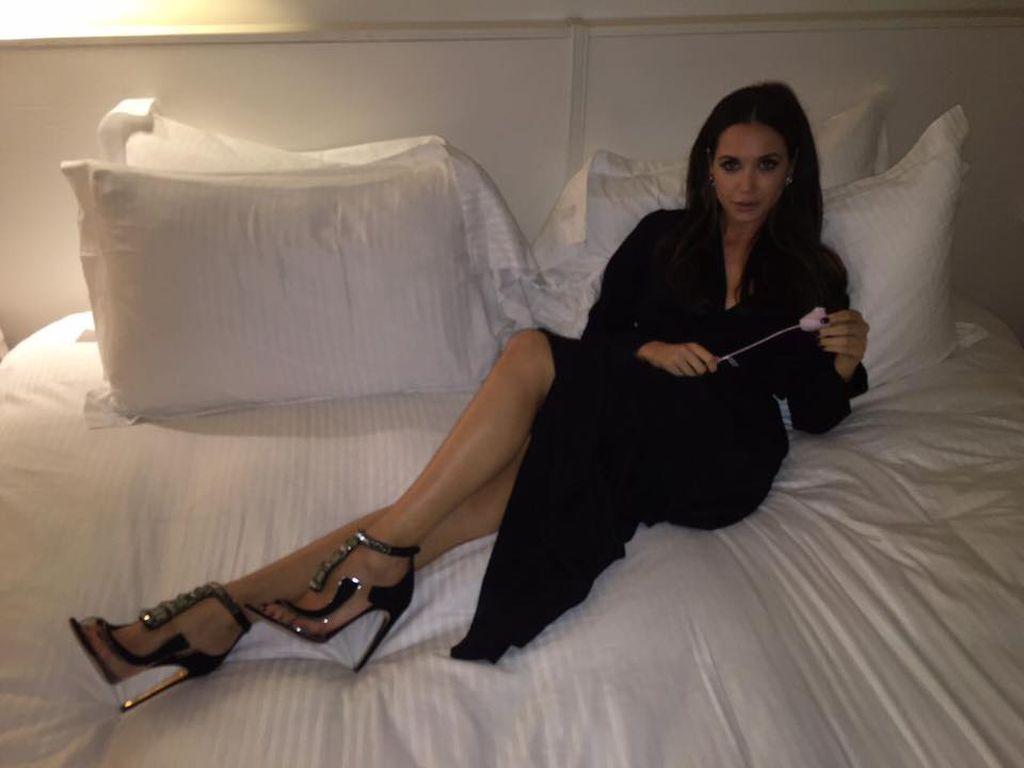 High Heels Im Bett