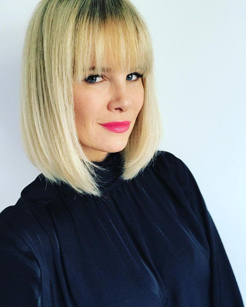 Neuer Style Monica Ivancan Begeistert Fans Auch Serios