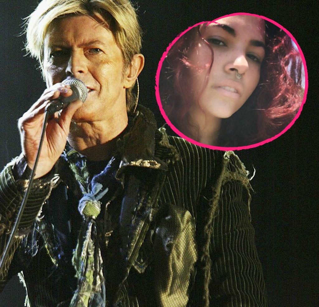 Seltenes Bild So Schön Ist David Bowies Tochter Lexi