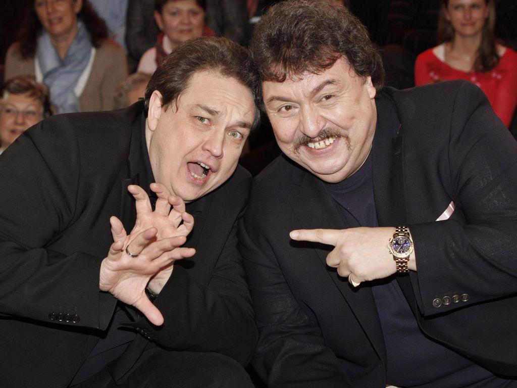 Oliver Kalkofe und Achim Mentzel
