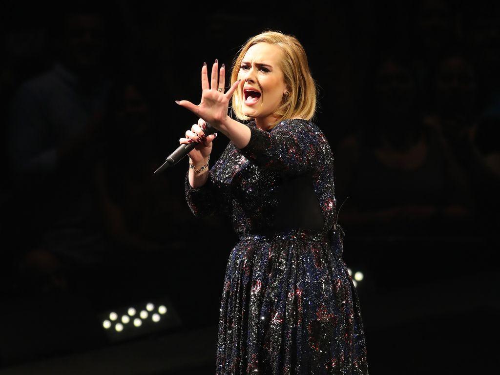 Adele bei ihrer Noth American Tour