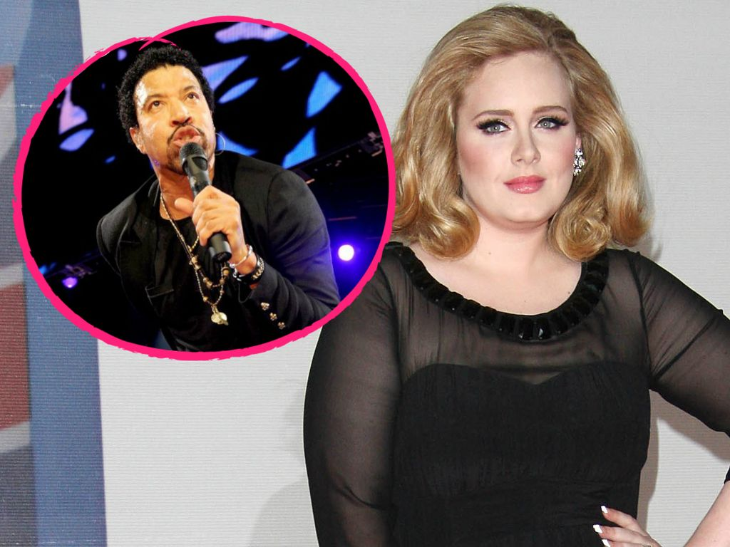 Adele Adkins und Lionel Richie