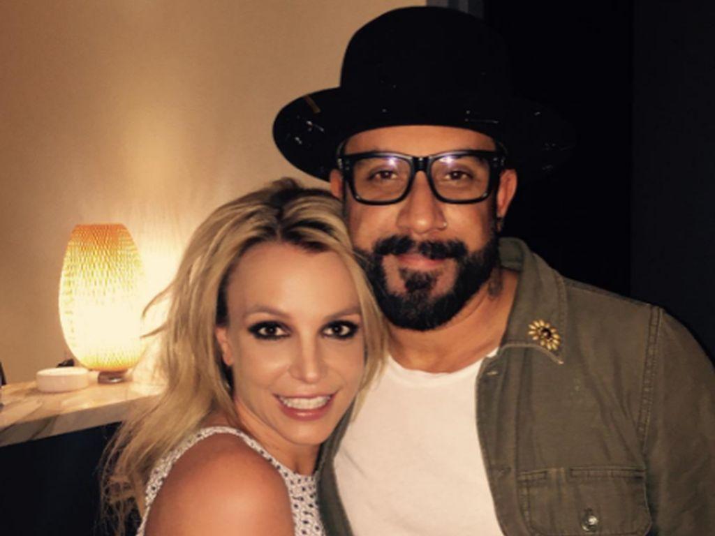 Britney Spears und AJ McLean