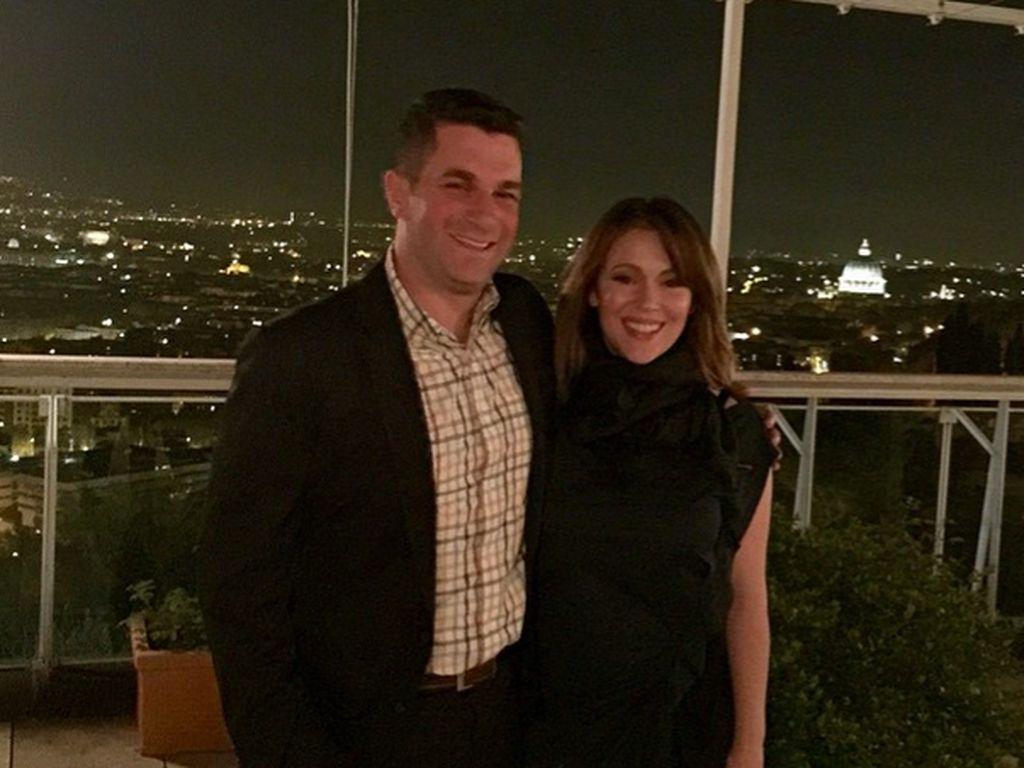 Alyssa Milano und David Bugliari