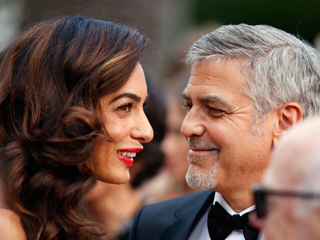 Amal und George Clooney auf den 69. Filmfestspielen in Cannes