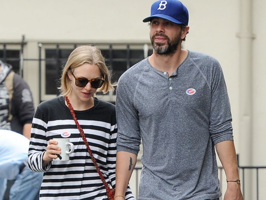 Amanda Seyfried und ihr Verlobter Thomas Sadoski in Hollywood
