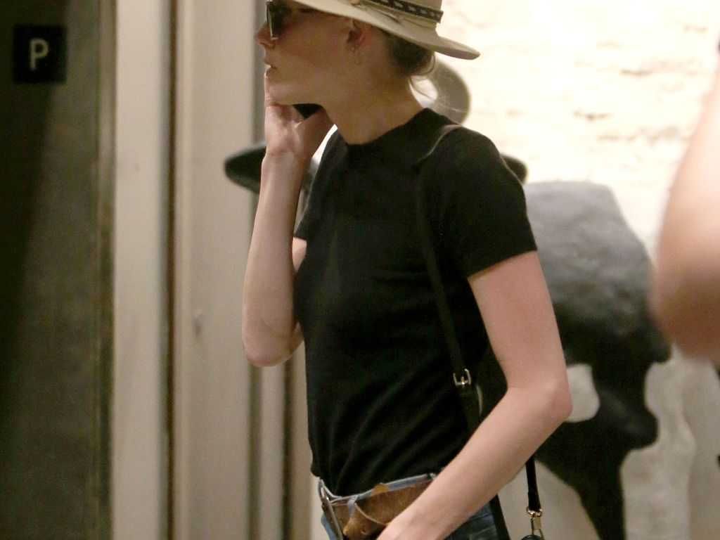 Amber Heard bei der Ankunft an einem Büro in L.A.