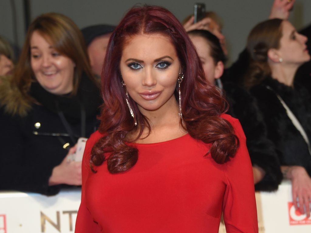 Amy Childs bei den National Television Awards in London