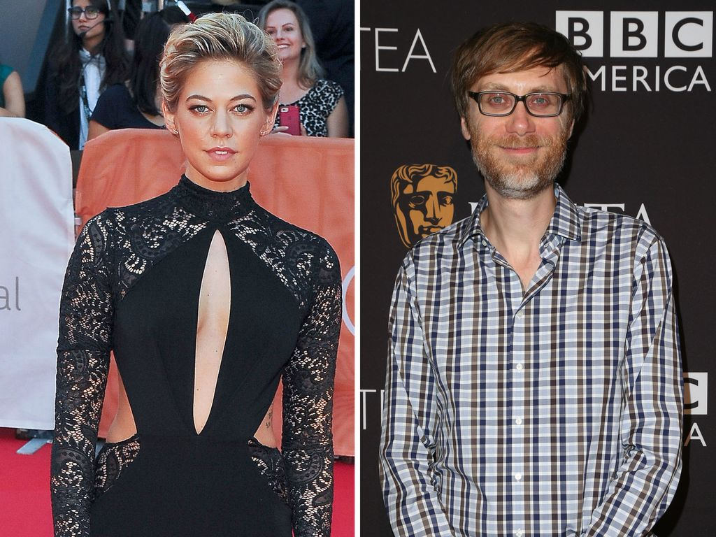 Analeigh Tipton und Stephen Merchant