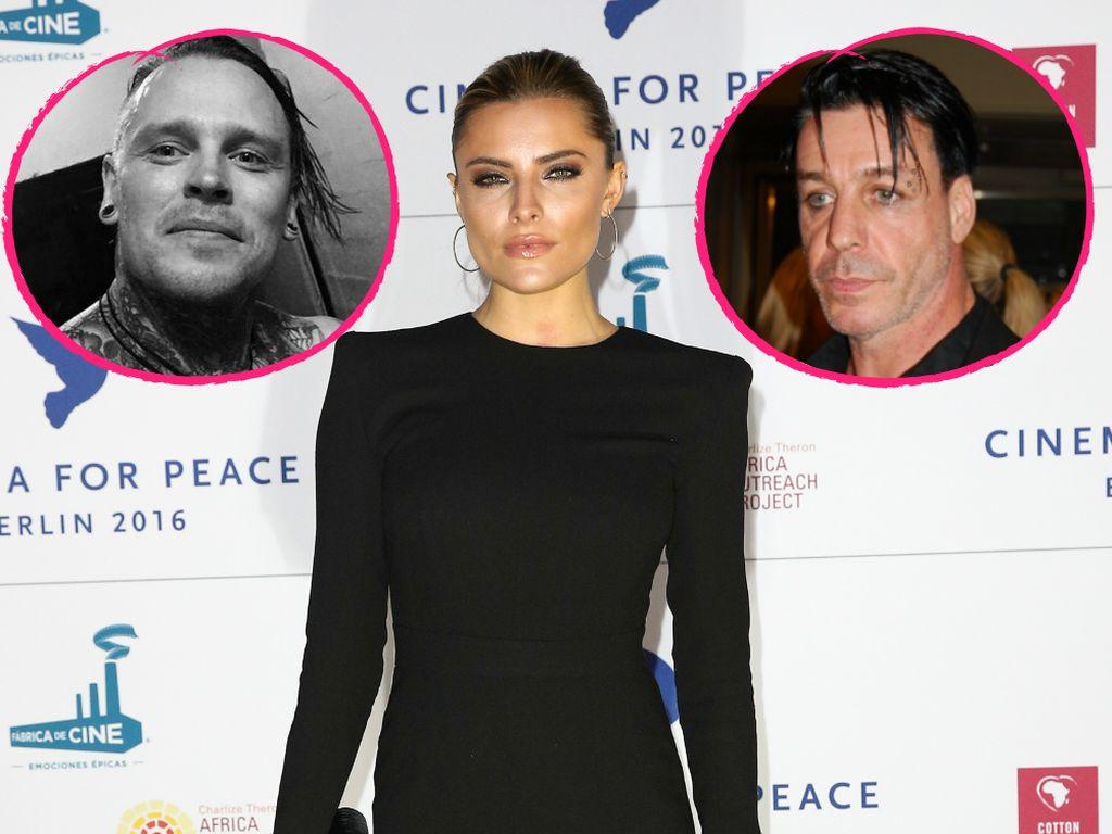 Andy LaPlegua, Sophia Thomalla und Till Lindemann