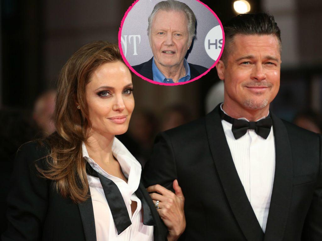 Angelina Jolie, Jon Voight und Brad Pitt