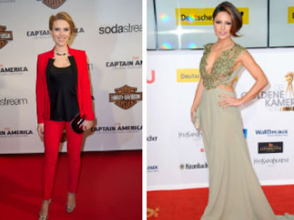 Nazan Eckes, Ryan Gosling, Eva Mendes und Scarlett Johansson