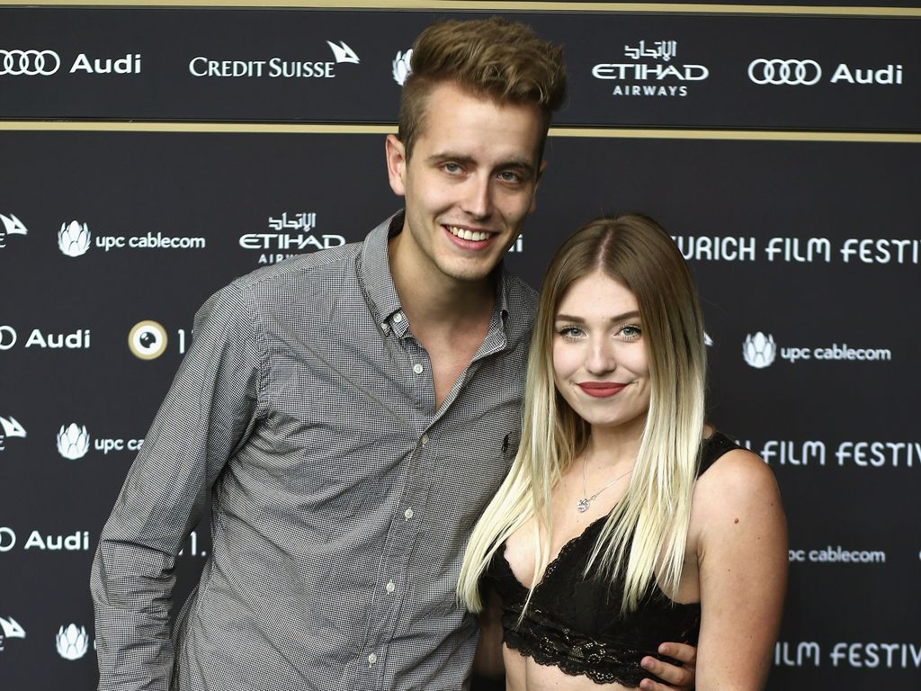 Die Youtube-Stars Bibi Heinicke und Julian Claßen beim Züricher-Film-Festival 2015
