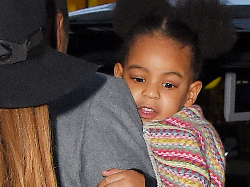 Jay-Z und Blue Ivy Carter