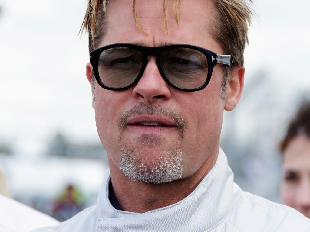 Brad Pitt bei einem 24-Stunden-Rennen in Frankreich