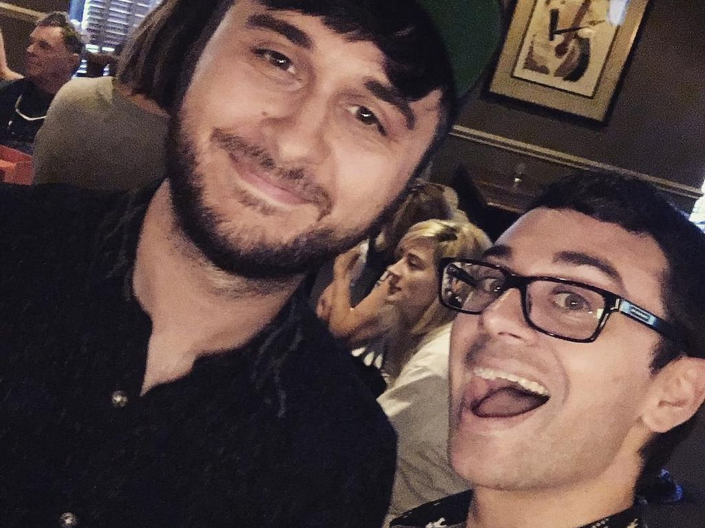 Brad Walsh und Christian Siriano kurz vor der eigenen Hochzeit im Juli 2016
