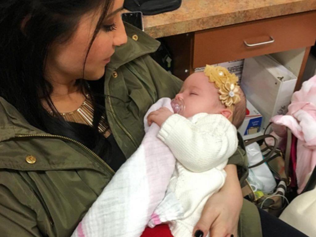 Bristol Palin mit ihrer Tochter