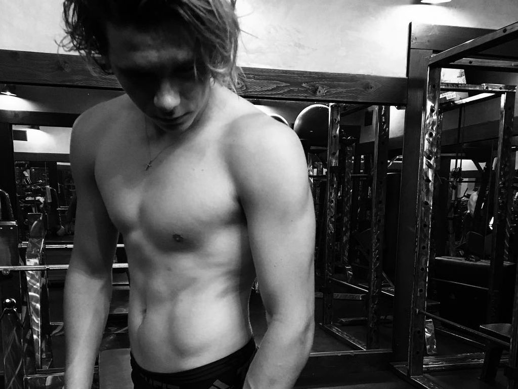 Brooklyn Beckham im Fitness-Studio