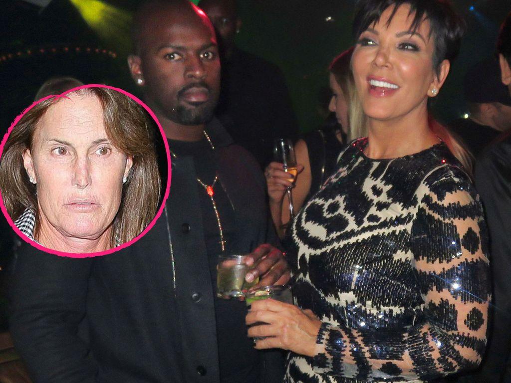 Kris Jenner, Bruce Jenner und Corey Gamble