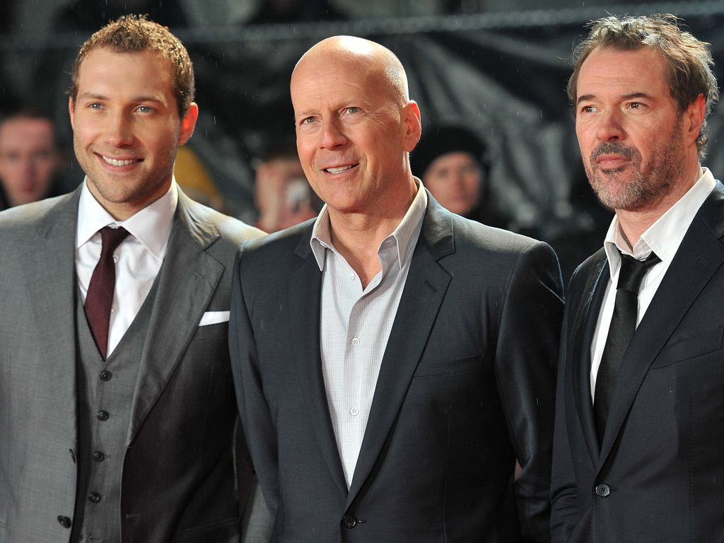Bruce Willis, Sebastian Koch und Jai Courtney