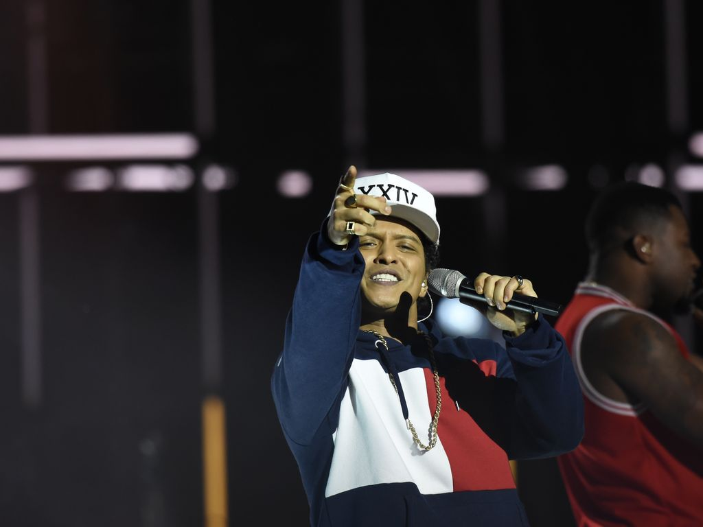 Bruno Mars bei Verleihung der MTV Europe Music Awards in Rotterdam