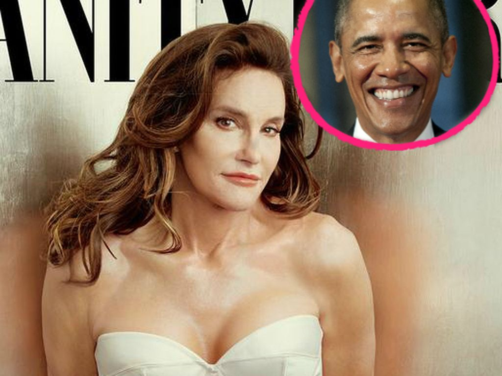 Barack Obama und Bruce Jenner