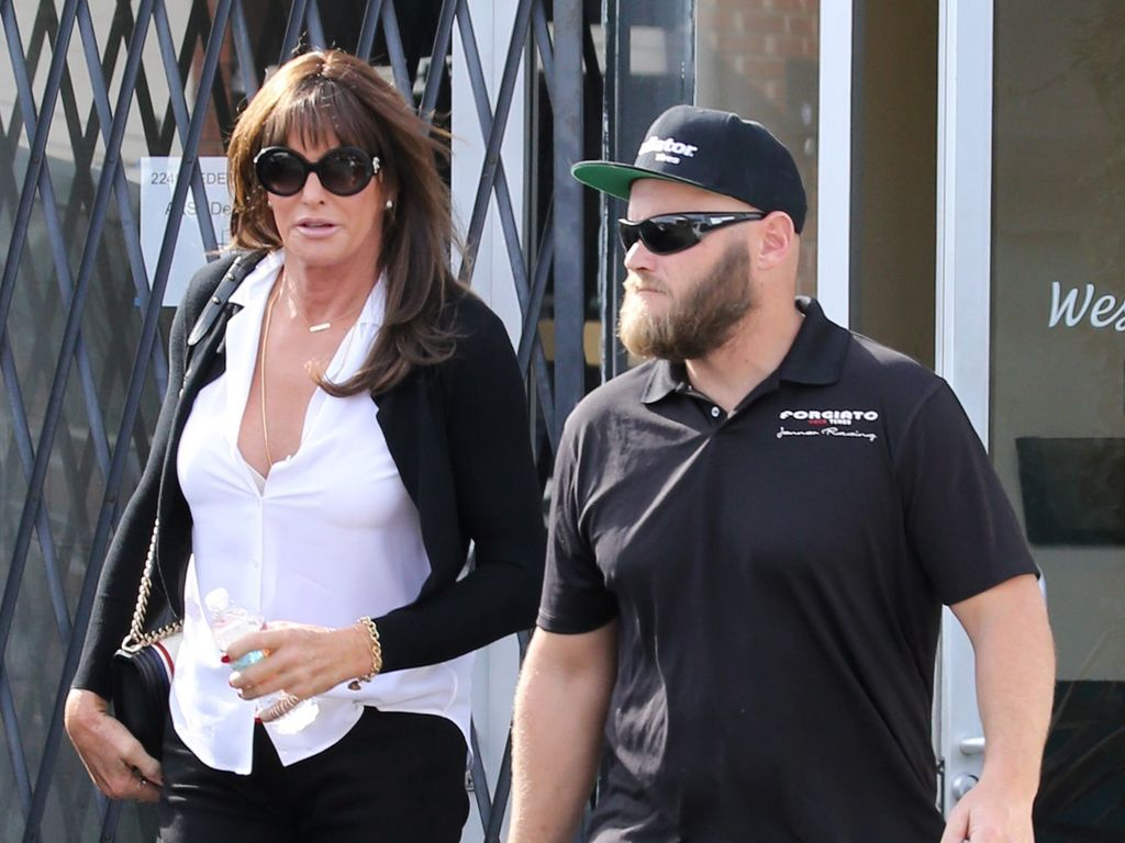 Caitlyn Jenner und Burt Jenner