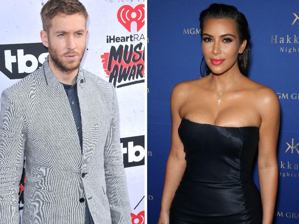 Calvin Harris und Kim Kardashian