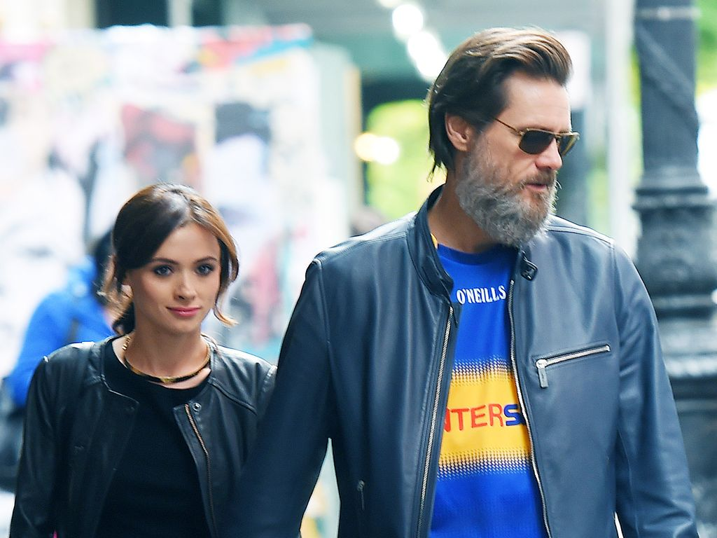 Cathriona White und Jim Carrey in Manhatten